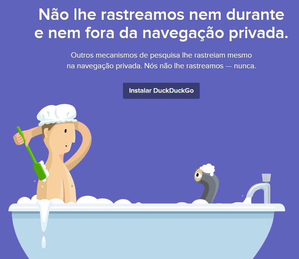 DuckDuckGo o que é